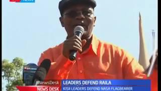 Dare arrest Raila Odinga, says the Kisii leaders