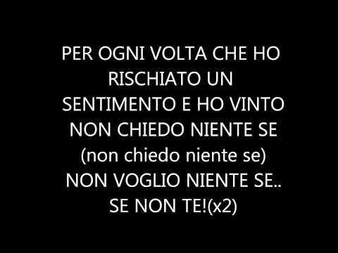 SE NON TE - Laura Pausini - (Official lyric video)