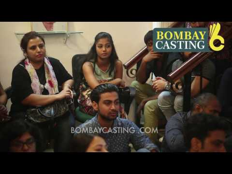 Bombaycasting Acting Workshop By Renowned Filmmaker Mrigdeep Singh Lamba