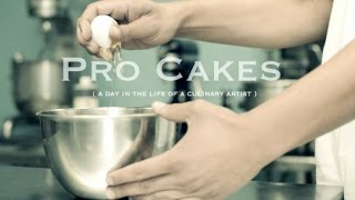 Pro Cakes (a day in the life of a culinary artist ) PROMO VIDEO
