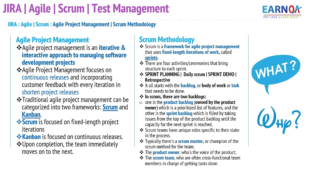 Jira Scrum Agile And Test Management Youtube
