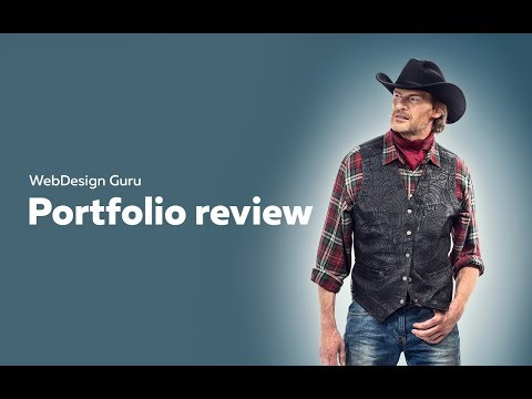 WebDesign Guru - portfolio review 2