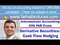 Derivative Securities: Cash Flow Hedging | Intermediate Accounting (Appendix 17A & B) | CPA Exam FAR