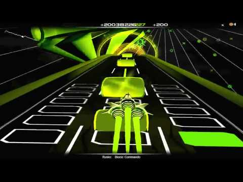 Audiosurf - Rusko: Bionic Commando (Dubstep)