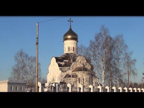 Новоенисейск и новоенисейская церковь изнутри. Лесосибирск. Видео высокой четкости 10.11.2013 .