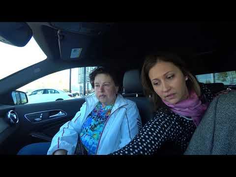 США 5190: Мерседес - смотрим, слушаем, спрашиваем, тест драйв -нам помогает работница дилершипа Лена