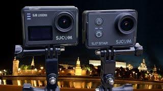 SJ7 Star vs SJ6 Legend, сравнительное Ночное видео (comparative Night video): 4K | 2,5K | 1080p