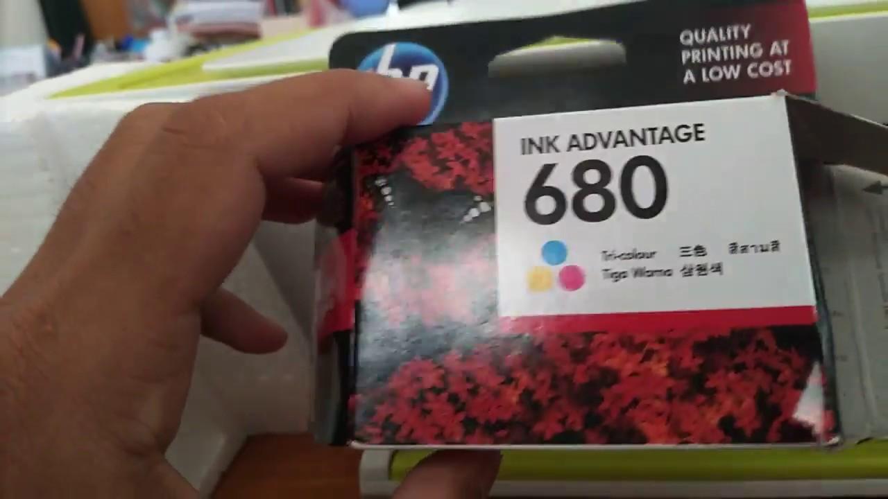 วิธีเปลี่ยนตลับหมึก HP 680    | Replacing the HP 680 cartridge | Pinztv IT EP. 67
