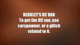 GTA San Andreas: Rare and Unique vehicles [Part 2]