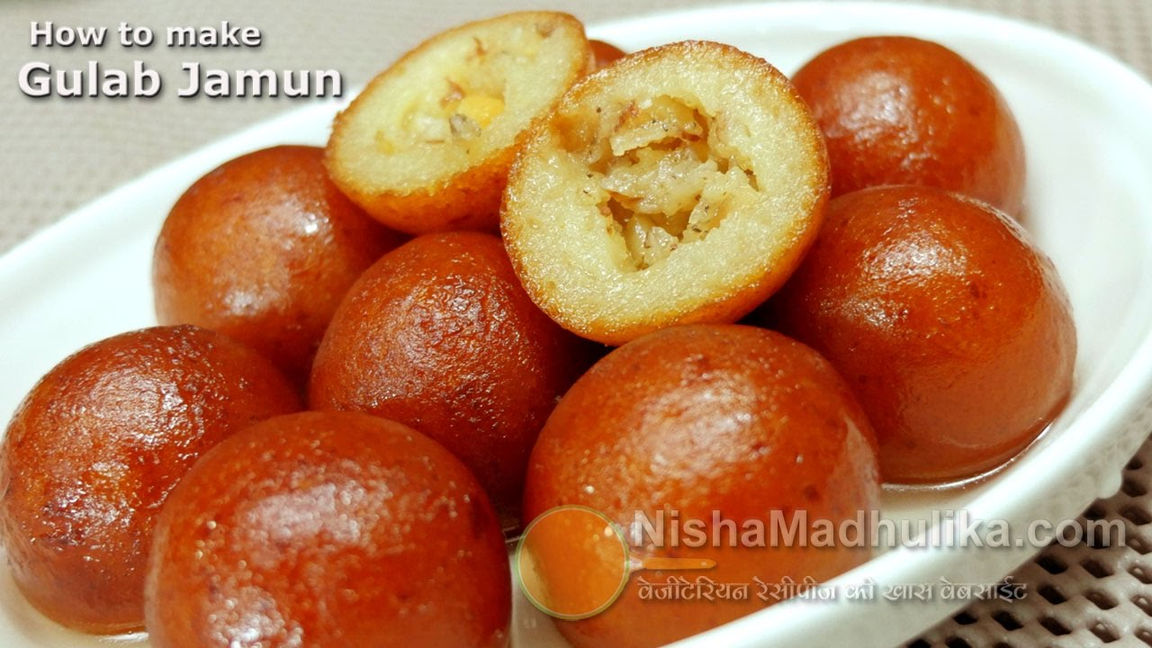 Gulab jamun recipe gulab jamun recipe with khoya or mawa youtube forumfinder