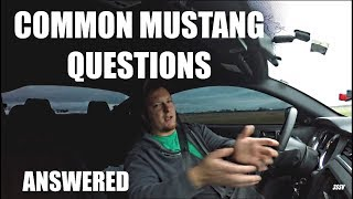 Common 3.7L Mustang Questions ANSWERED - Part 1