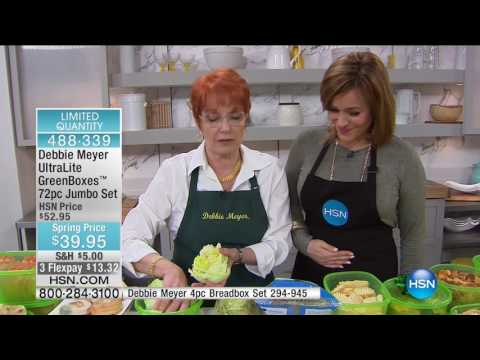 HSN | Kitchen Innovations featuring Debbie Meyer 02.28.2017 - 10 AM
