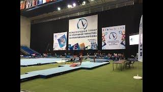 XXIV международный турнир по спортивной гимнастике на кубок Михаила Воронина день 3