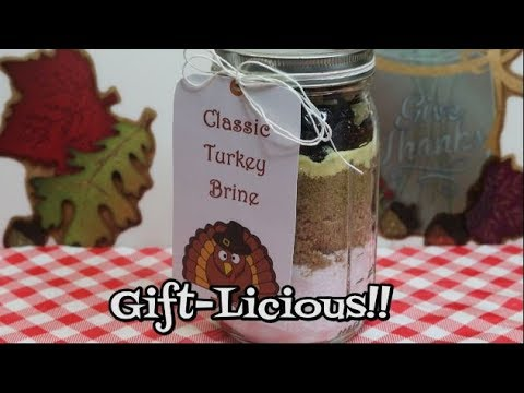 Turkey Brine Gift in a Jar ~ Turkey Brine Recipe ~ Thanksgiving Survival Guide ~ Noreen's Kitchen