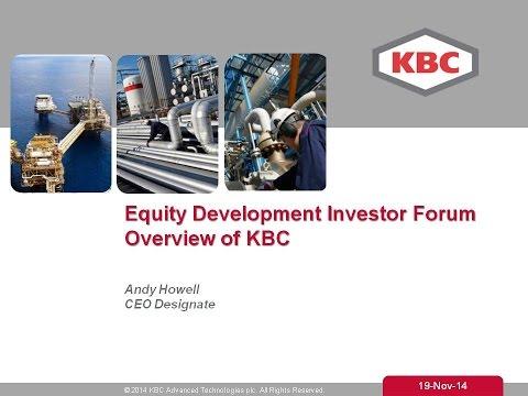 KBC Advanced Technologies ED Investor Forum 19th November 2014