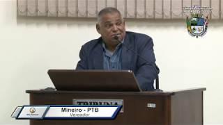 35ª Sessão Ordinária - Vereador Mineiro