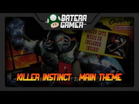 Killer Instinct - Main Theme ft. @VideoGameCovers (Drum Cover) #105