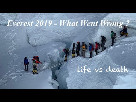 Mount Everest Expedition 2019 - What went wrong ? On Summit Climb