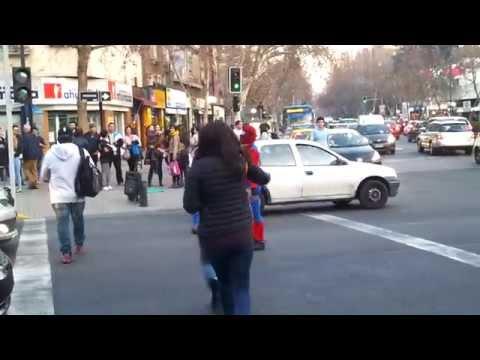 Spiderman in Santiago de Chile