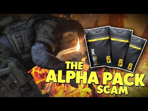 THE ALPHA PACK SCAM! - Rainbow Six: Siege