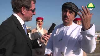 Brigadier Abdul Raziq Al Shahurzi with Darek Thompson - Muscat…