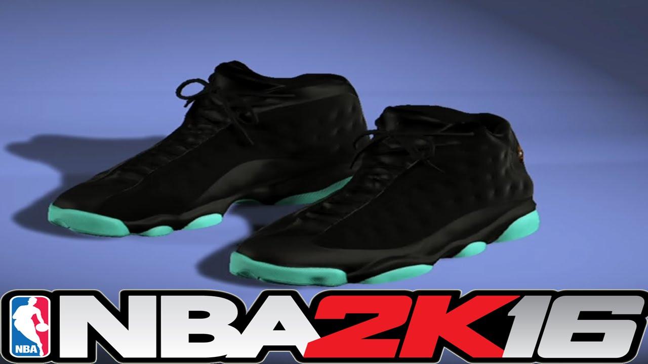 san francisco 47de7 0ed3c NBA 2K16 Shoe Creator - Jordan 13 Glow In The Dark ⋆ NBA2K16⋆