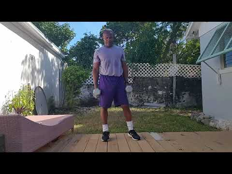 Outdoor Fitness Bahamas Tabata With Weights