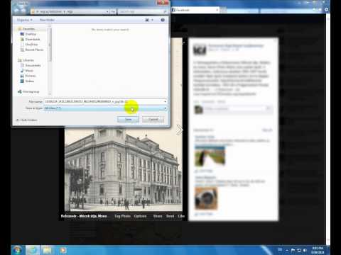 How to fix Facebook photo save error (Internet Explorer)