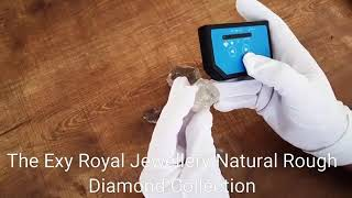 الماس خام rough natural diamonds