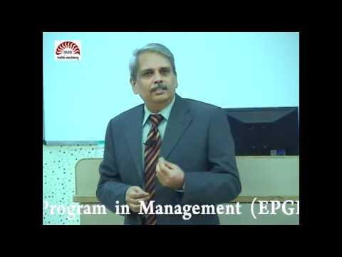 EPGP Seminar Series 2010-11: Mr. S. Gopalakrishnan