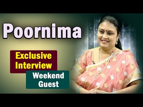 Telugu actress Poornima Exclusive Interview || Weekend Guest || NTV