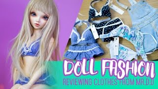 Doll Fashion ep.1 - Underwear, swimwear and more - Featuring MR.D:D