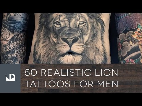 50 Realistic Lion Tattoos For Men