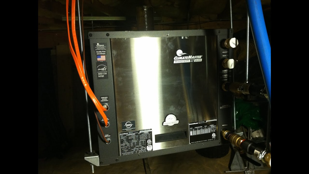 Climatemaster Geothermal Heat Pump Simple Diy Installation