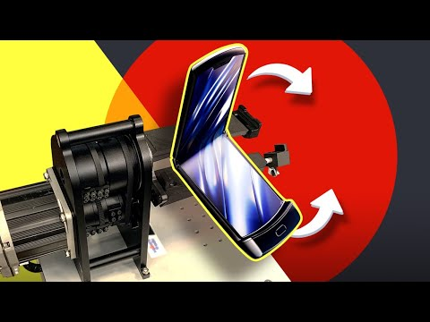 LIVE: Folding the new Moto Razr 100,000 times (with full unboxing)