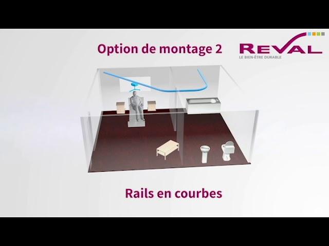 Montage rails en courbes 3D VF
