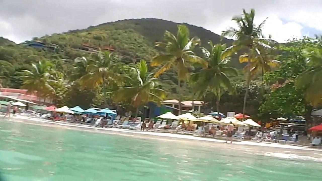 Visiting Cane Garden Bay Beach In Tortola