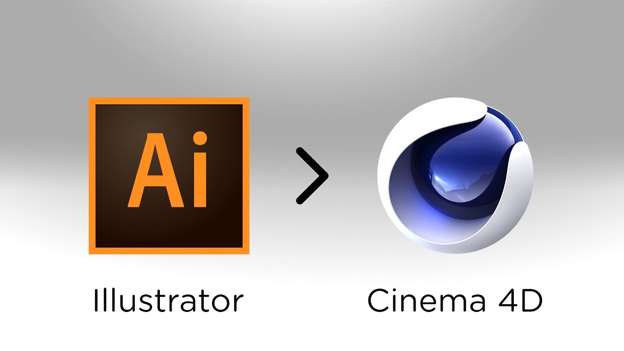 Tutorial Cinema 4D - Como Importar vector do Illustrator ...  Tutorial Cinema...