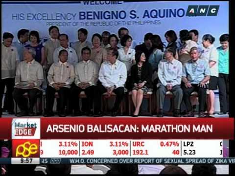 Arsenio Balisacan: Marathon man