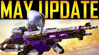 Destiny 2 - MAY UPDATE! NEW SUBCLASS?!