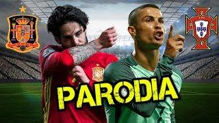 Canción España vs Portugal (Parodia Jason Derulo-Colors)