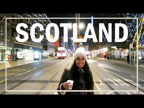 Getting Lost In Edinburgh, Scotland - A Travel Vlog