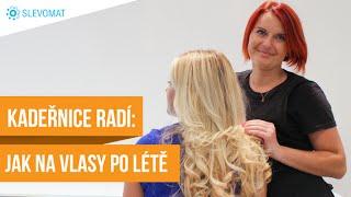 Kadeřnice radí: Jak napravit vlasy po létě