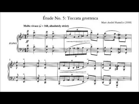 Marc-André Hamelin - Étude No. 5 in G minor 'Toccata grottesca'