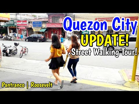 UPDATE! ANG PANTRANCO NGAYON! | ROOSEVELT FISHER MALL QUEZON AVE. QUEZON CITY STREET WALKING TOUR!