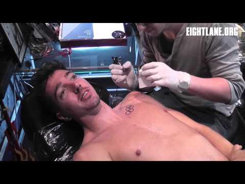 Ross Murray Olympic Rings Tattoo | EightLane News