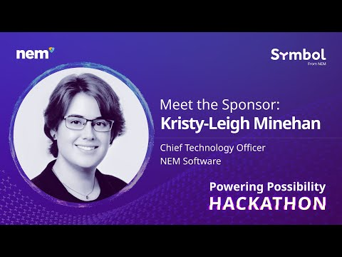 Symbol Powering Possibility Hackathon   Meet the Sponsor   Kristy-Leigh Minehan