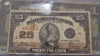 My Huge Canadian Paper Money Collection