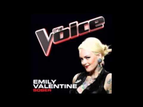 The Voice : Emily Valentine - Sober [STUDIO RECORDING]