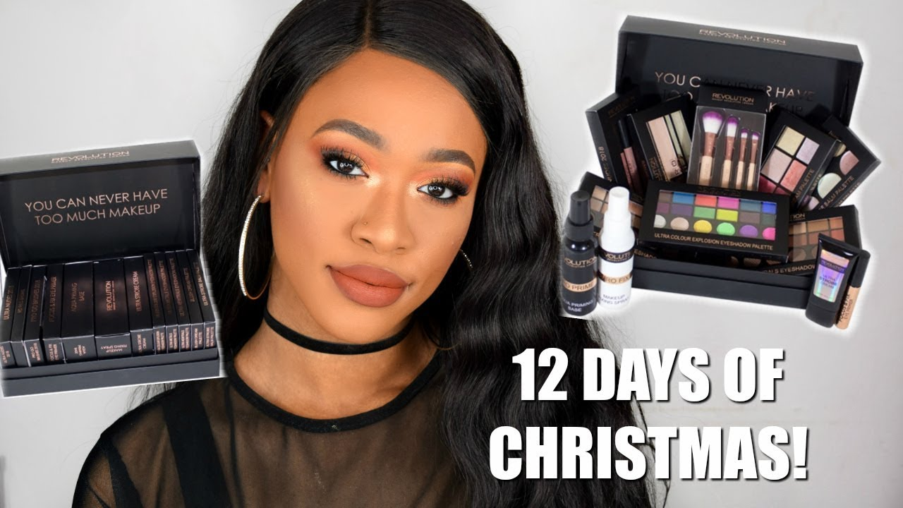 12 days of christmas makeup